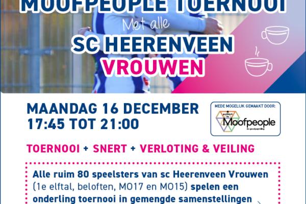 Samenwerking Stichting Vrouwenvoetbal Noord-Nederland en Moofpeople